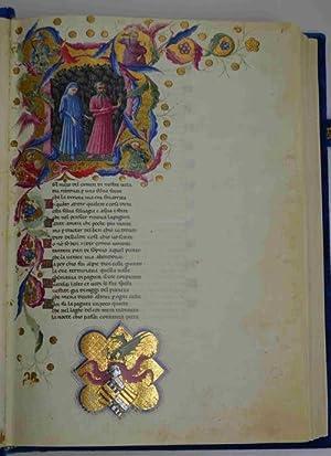 La Divina Commedia di Alfonso d'Aragona Re: DANTE ALIGHIERI.