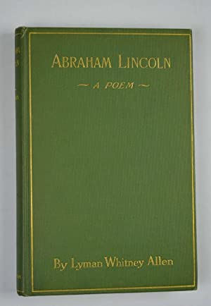 Abraham Lincoln. A poem?