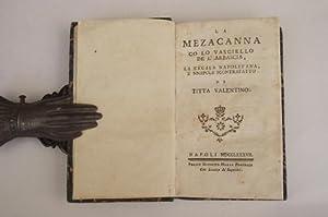 La Mezacanna co lo Vasciello de l'Arbascia,: TITTA VALENTINO.