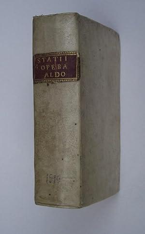 Sylvarum libri V. Achilleidos libri XII. Thebaidos: STAZIO PUBLIO PAPINIO.