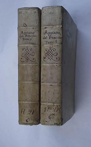 Historia delle guerre civili de' romani di.: APPIANUS (Appiano Alessandrino).