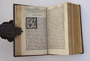 Iustino historico clarissimo, nelle Historie di Trogo: JUSTINUS.