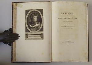 La Teseide. Tratta dal manoscritto del conte: BOCCACCIO G.