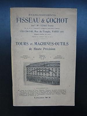 Tours et machines-outils de haute précision: FISSEAU & COCHOT