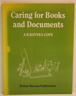 Caring for Books and documents.