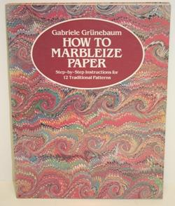 How to marbleize paper. Step by step instructions for 12 traditional patterns.