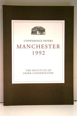 Conference Papers Manchester 1992.