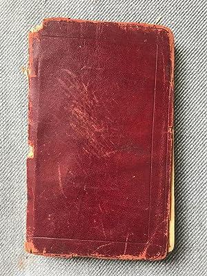 1931-1940 Original Manuscript Diary Handwritten by a: Harry A. Jaques