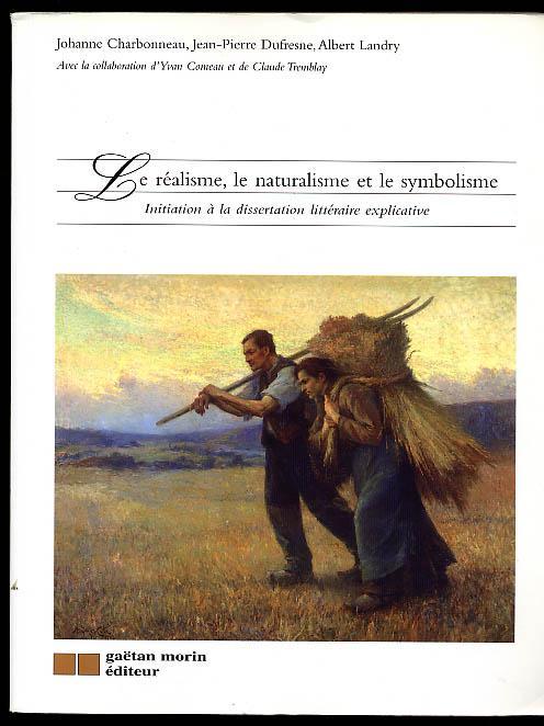 Dissertation sur le realisme et le naturalisme