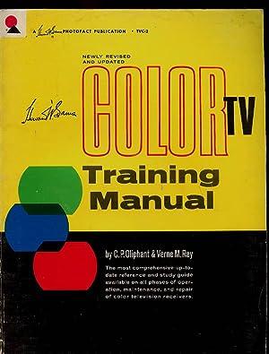 Howard W. Sams Color TV Training Manual: Oliphant, C.P. &