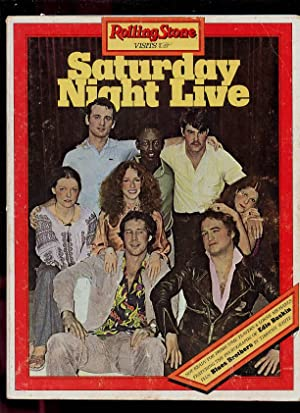 Rolling Stone Visits Saturday Night - Live: Partridge, Marianne, ed;