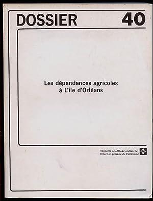 Les Dépendances agricoles à L'île d'Orléans Approche: Bergeron Michel et