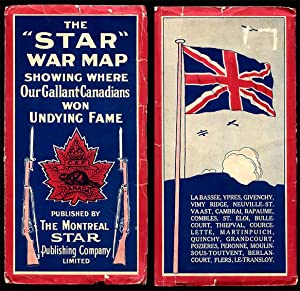War Map Issued By the Montreal Daily: Montreal Star