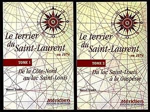 Le Terrier Du Saint-Laurent En 1674 Tomes: Trudel Marcel