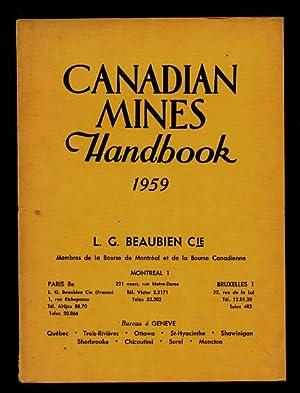 Canadian Mines Handbook 1959: Northern Miner