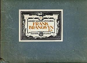 Modern Masters of Etching Frank Brangwyn: Salaman, Malcolm C.