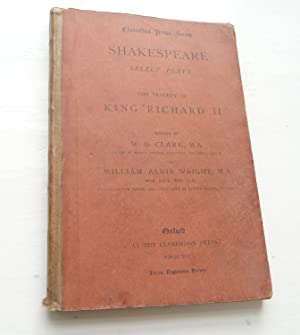 Shakespeare Select plays. The Tragedy of King: Shakespeare, William; Edited