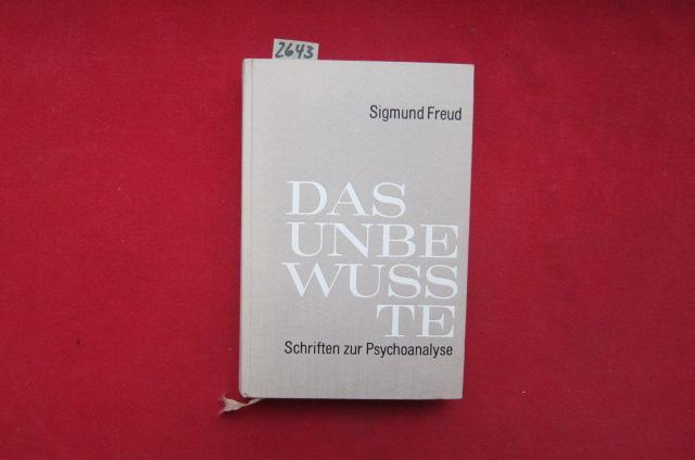 Sigmund Freud Das Unbewußte Schriften