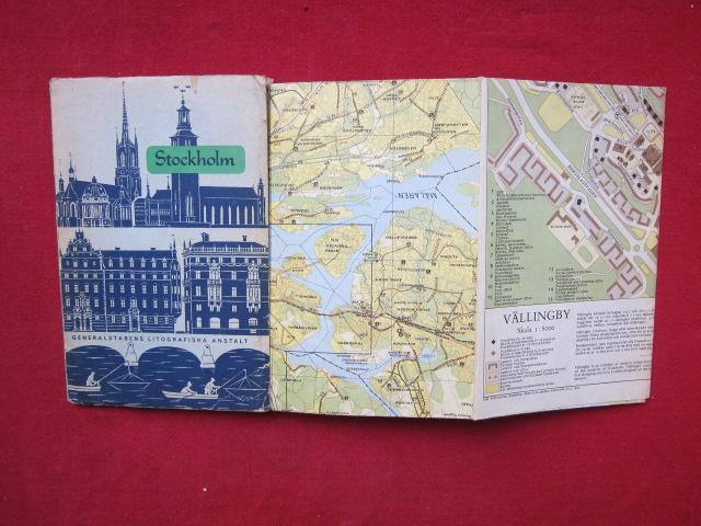 Karta Over Stockholm Med Fororter Map Of Plan Von Stockholm