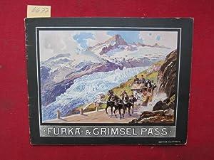 Furka & Grimselpass - Souvenir-Album mit 32: Photographie-Verlag Wehrli A.-G.: