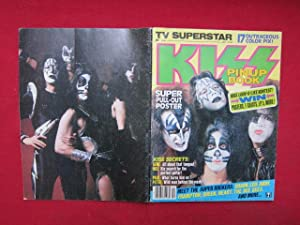 TV Superstar : KISS. Pinup book. [Gene Simmons, Peter Criss, Ace Frehley, Paul Stanley]