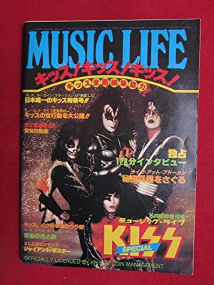 Music Life : KISS SPECIAL ISSUE ; Officially licenced by KISS/ AUCOIN Management ;