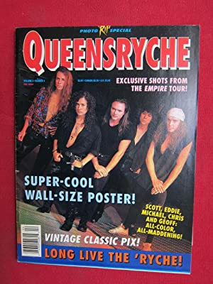 Queensryche - RIP Photo Special. Vol. 3, No. 4 ; Exclusive shots from the Empire Tour!