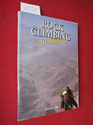 Rock climbing in Oman.
