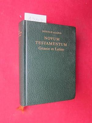 Novum testamentum Graece et Latine. textum Graecum: Nestle, Eberhard (Begr.)