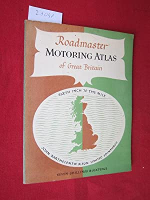 Motoring atlas of Great Britain. Sixth-inch to Mile.