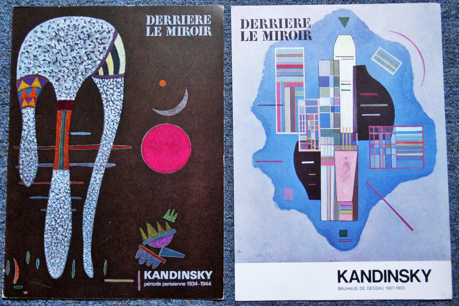 TWO_2_ORIGINAL_LITHOGRAPHS_BY_KANDINSKY_KANDINSKY_Very_Good