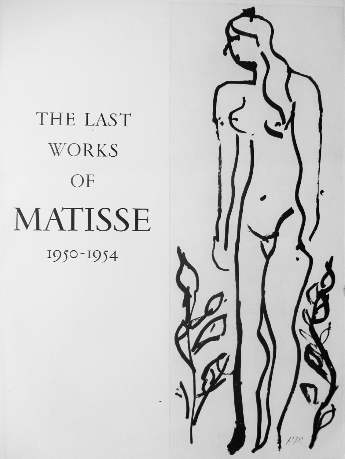 LAST_WORKS_-_LITHOGRAPH_HENRI_MATISSE_[Very_Good]