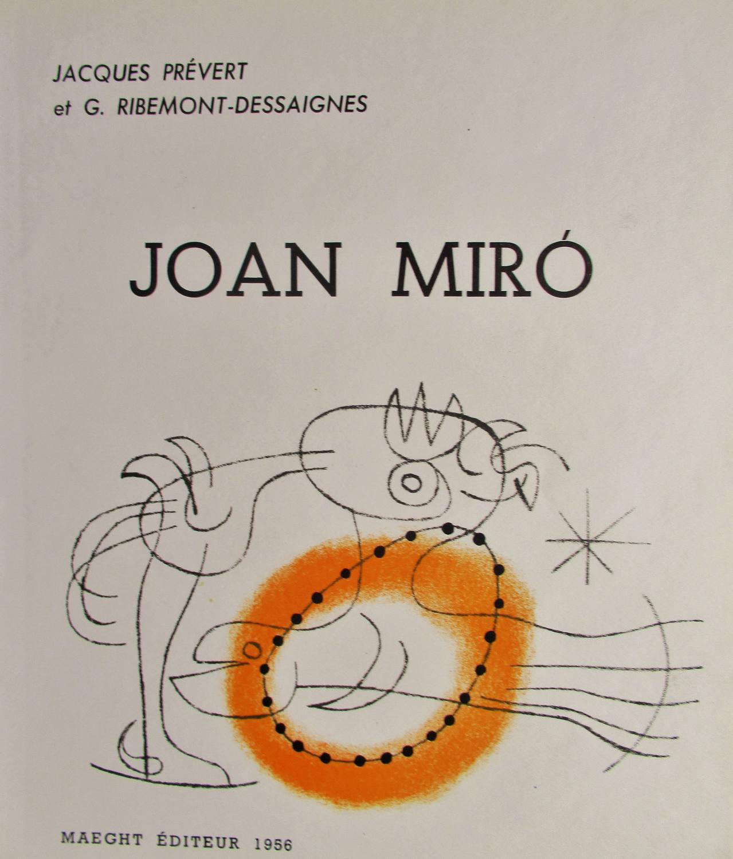 SURREAL_LITHOGRAPH_JOAN_MIRO_Near_Fine
