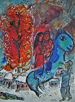 THE LOVERS - DERRIERE LE MIROIR -: CHAGALL