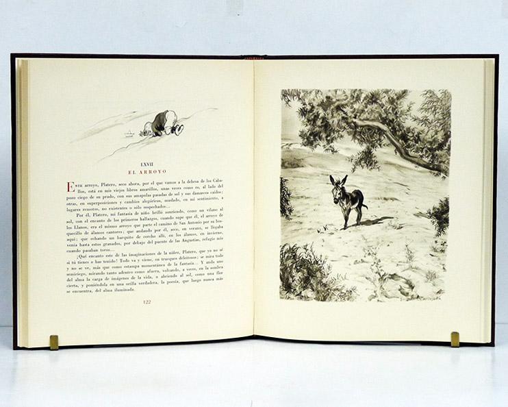 Platero y yo. (Elegía andaluza). Edición completa. Ilustraciones de Carlos Sá...