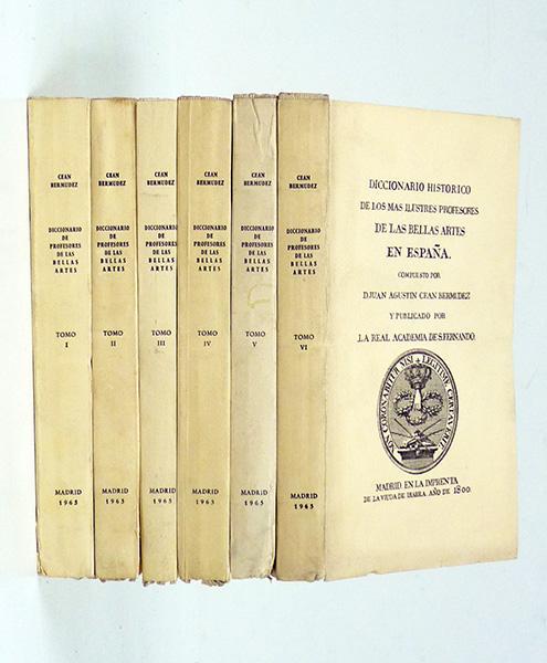 Diccionario Histórico de los mas Ilustres Profesores de
