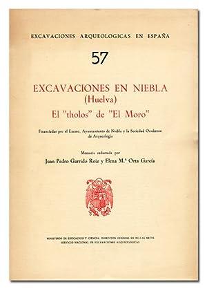 Excavaciones en Niebla (Huelva). El «tholos» de: GARRIDO ROIZ (Juan