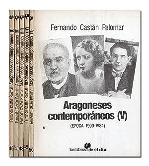 Aragoneses contemporáneos. (Época 1900-1934).: CASTÁN PALOMAR (Fernando).