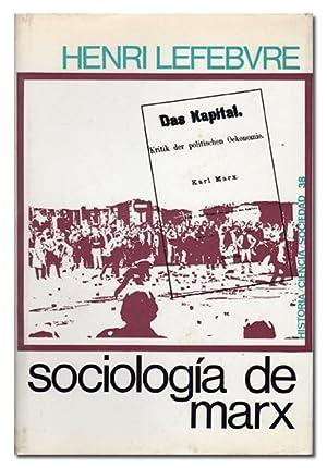 Sociología de Marx.: LEFEBVRE (Henri).