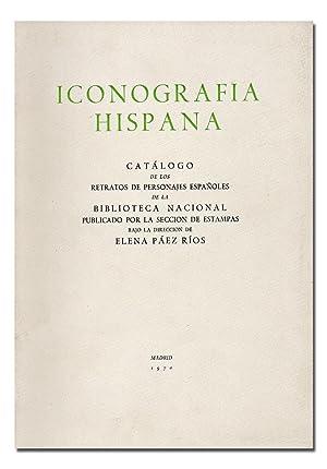Iconografía Hispana. Catálogo de los retratos de: PÁEZ RÍOS (Elena).