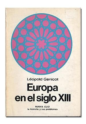 Europa en el siglo XIII.: GENICOT (Léopold).