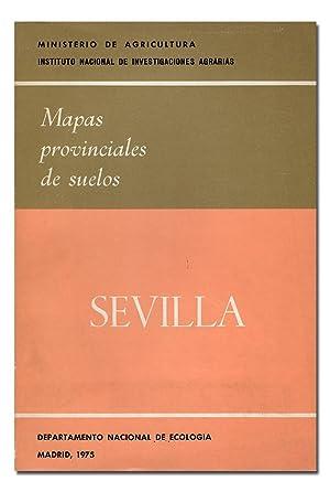 MAPAS PROVINCIALES DE SUELOS: SEVILLA.