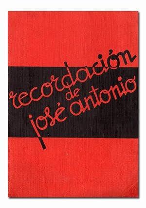 Recordación de José Antonio.: SUÁREZ (Eugenio).