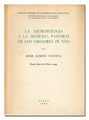 La antropología y la medicina pastoral de San Gregorio de Nisa.: JANINI CUESTA (José).