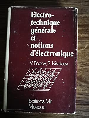 Electrotechnique generale et notions d'electronique