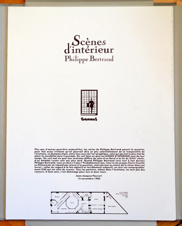 sc nes d 39 int rieur par philippe bertrand jean jacques. Black Bedroom Furniture Sets. Home Design Ideas