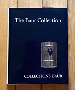 The Baur Collection, Geneva. Japanese lacquer (selected pieces).
