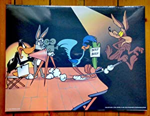 Bugs Bunny, Wile E. Coyote, Road Runner (Bip Bip), Daffy Duck - Tournage