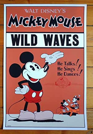 Mickey Mouse - Wilde wave