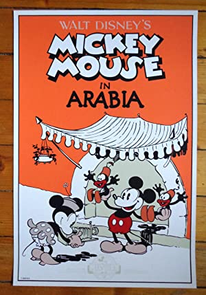 Mickey Mouse in Arabia